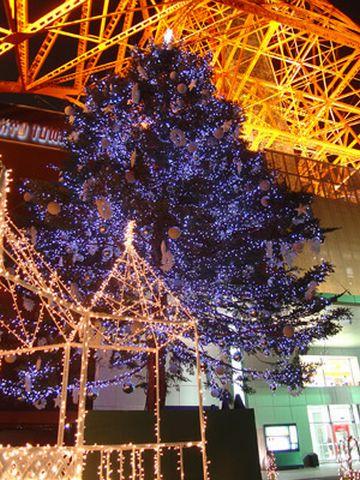 東京タワーのクリスマス