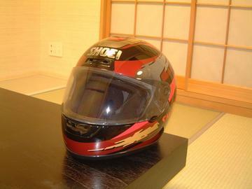 火の玉に似合うヘルメット
