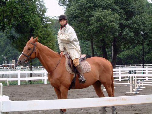 乗馬の先生